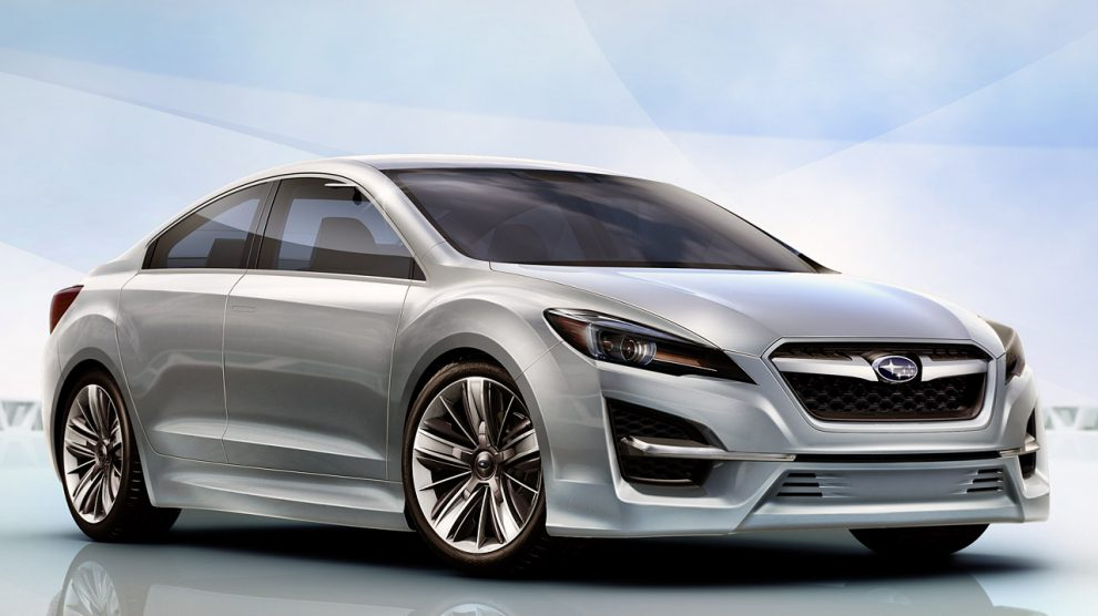 Subaru's Design Concept Hints At Future Model