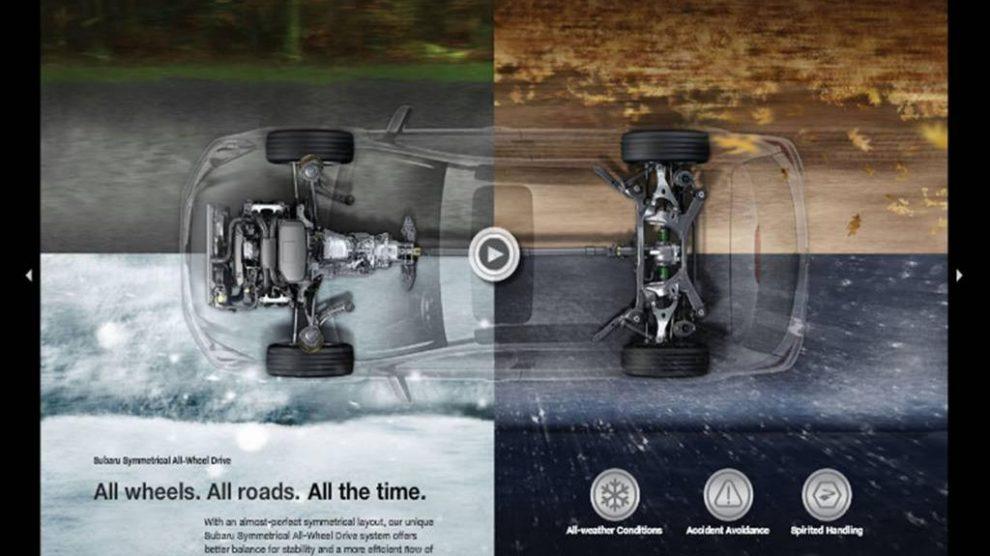 Subaru Showcases Outback Digitally
