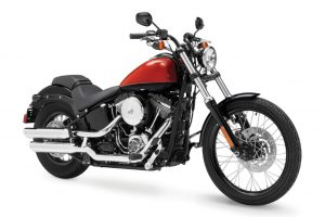 The new Harley-Davidson Blackline motorcycle