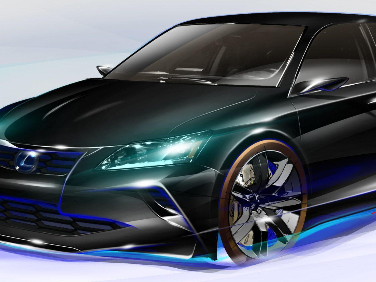 Lexus, wild side, chicago auto show, F sport, V10 LFA supercar