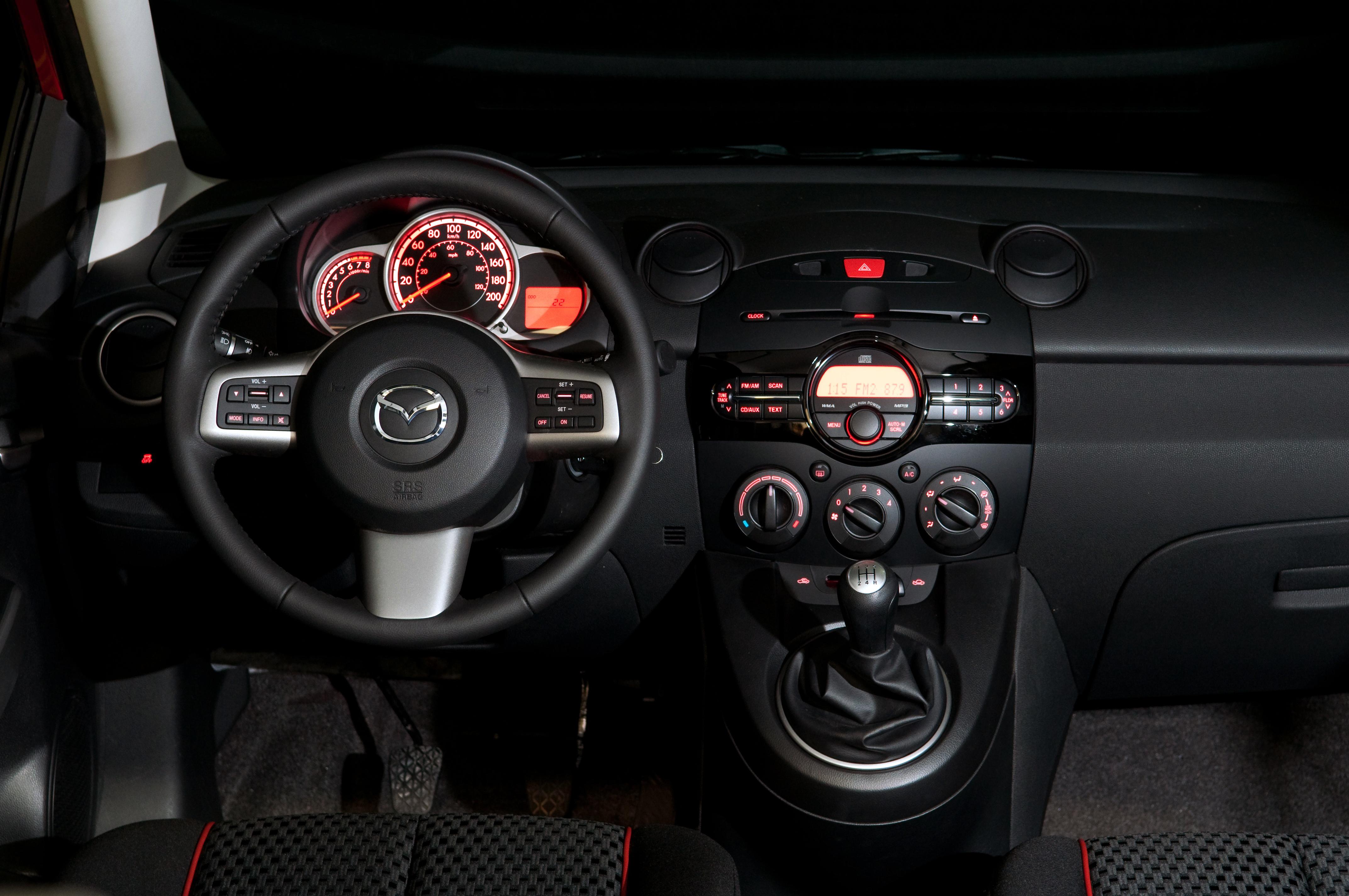 Mazda S Slick Little City Car The Auto News