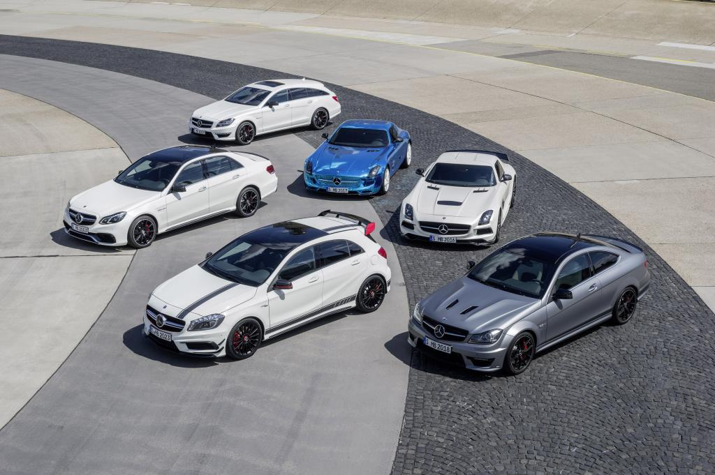 Six of in total 18 AMG models witnessing the premieres at Mercedes-Benz dealerships